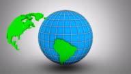 Creating a Rotating Globe video
