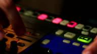 DJ creating music video