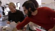 Creative Brainstorming Meeting In Design Office Shot On R3D video