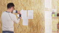 Creative designers in graphic design studio video