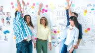 Creative office - teamwork concepts video