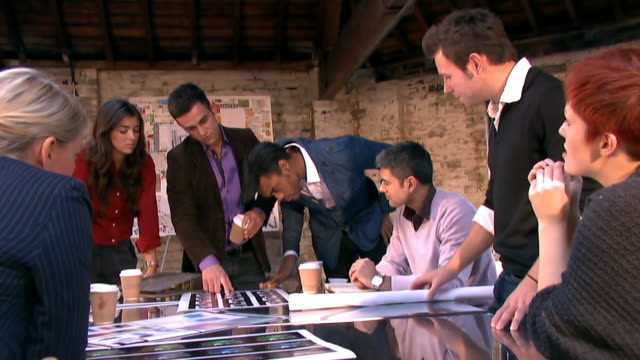 Creative small business boardroom video