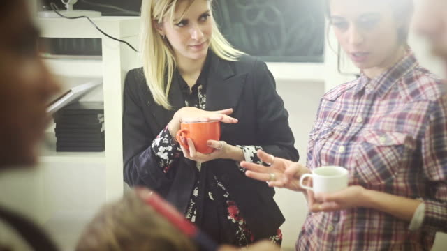 Creative team coffee break! video