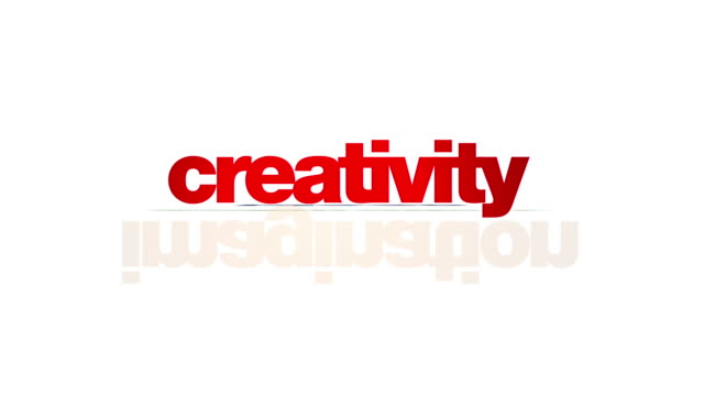 Creativity concepts animation video