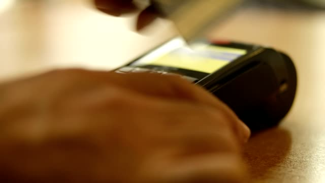 Credit card reader video