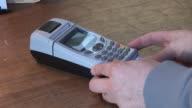 Credit Card Terminal Machine 2 - HD video