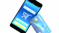 Credit cards and smartphone video
