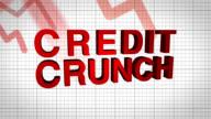 credit crunch graph video