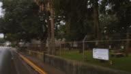 Creepy cemetery video