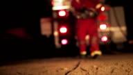 EMS crew walks away from ambulance video
