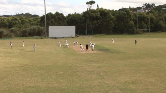 Cricket Match wicket - HD & PAL video