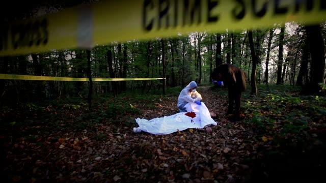 Crime scene investigation video