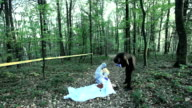 Crime scene investigation video
