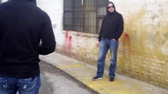 Criminal arrest video