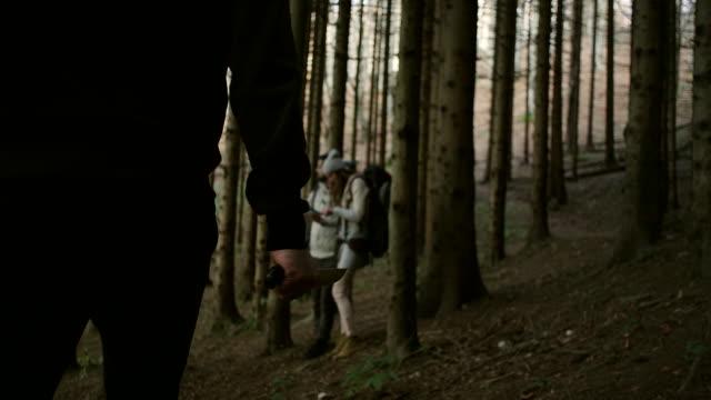 Criminal Chasing Hikers video