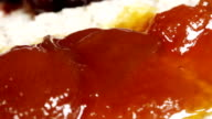 Crispbread with jam video