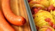 Crispy potato roast with olive oil video