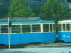 Croatia: Zagreb Tram Travels Screen Left video