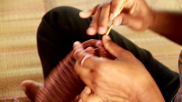 Crocheting video