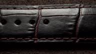Crocodile leather watch wristlet video