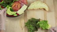 Croissant prep - HD 30P video