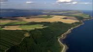 Cromarty Firth  - Aerial View - Scotland, Highland, United Kingdom video