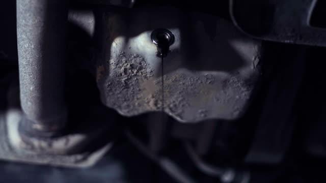 Crop shot of engine oil video