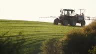 Crop sprayer video