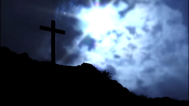 Cross and Clouds video