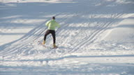 Cross country skiing 15 video