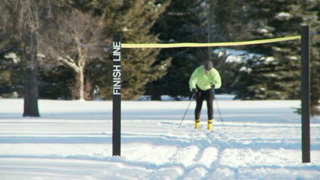 Cross country skiing 7 video