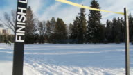 Cross country skiing 8 video