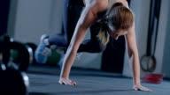 Cross Squat Thrusts video