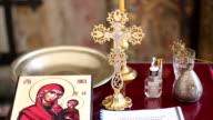 Cross with Jesus Christ video