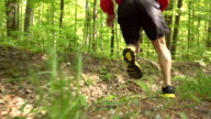 HD SUPER SLOW-MO: Cross-country Running video