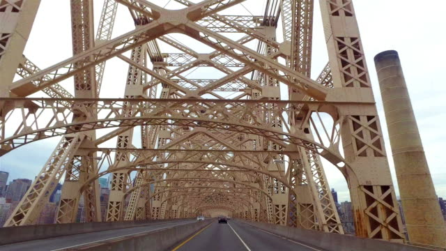 Crossing Queensboro Bridge from Manhattan to Queens. video