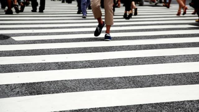Crossing Street / Tokyo, Japan video