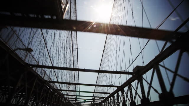 Crossing the Brooklyn Bridge POV video