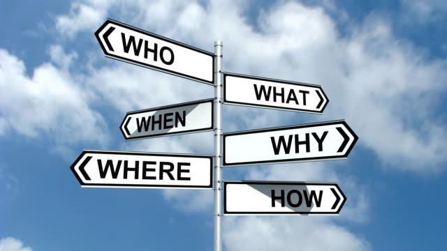 Crossroad Questions video