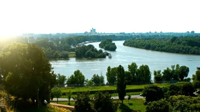 HD: Crossroads of the Sava and Danube rivers; Belgrade video