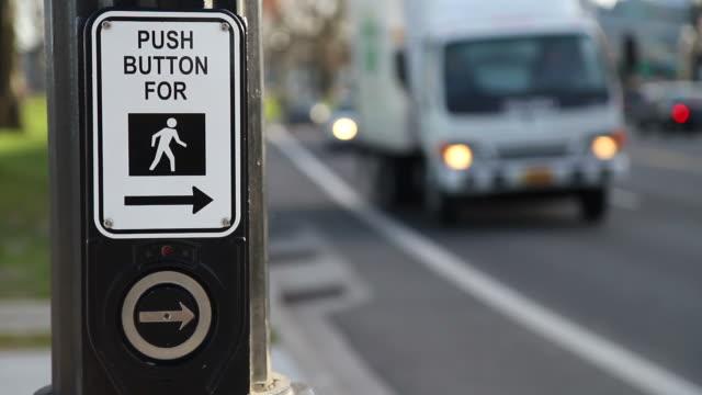 Crosswalk Button & Traffic video