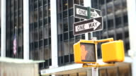 NYC Crosswalk Light (Tilt Shift Lens) video