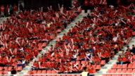 Crowd in stadium video