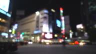 crowd people at Shibuya in Tokyo, Japan video