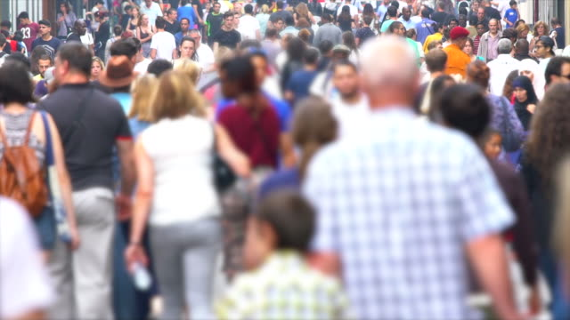 Crowd, Real Slowmotion video
