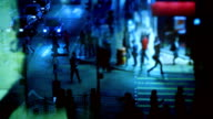 Crowded Street video