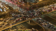 T/L MS HA PAN Crowded Traffic / Beijing, China video