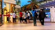 Crowds Of People Shopping video