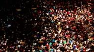 Crowds of people video