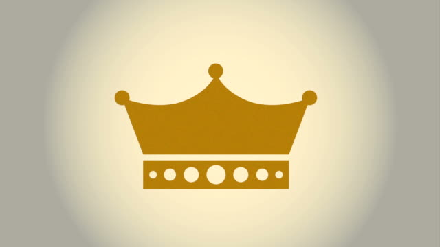 crown icon design, Video Animation video